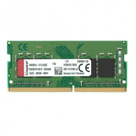 MEMORIA DDR4 SODIMM 8GB 2400 KINGSTON