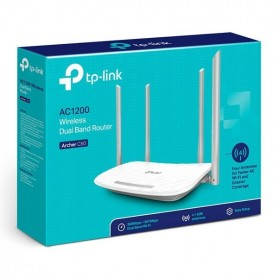 ROUTER WIFI ARCHER C50 AC1200 DUAL BAND 4 ANTENAS 5DBI 300MBPS+867MBPS