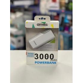 CARGADOR PORTATIL CENTENNIAL POWER BANK 3000MAH