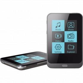 "REPRODUCTOR MP3 MUSICA VIDEO TEXTO PANTALLA 1.8"" 8GB RADIO COBY"