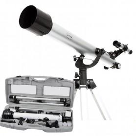 TELESCOPIO REFRACTOR DAZA 700X60 TRIPODE CON ESTUCHE RIGIDO DAZA