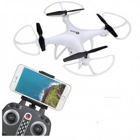 DRONE CUADRICOPTERO CONTROL REMOTO WIFI CAMARA 720HD LH-X25 LEAD HONOR