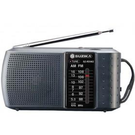 RADIO SUZIKA AM FM 062 2 BANDAS A PILA DE BOLSILLO