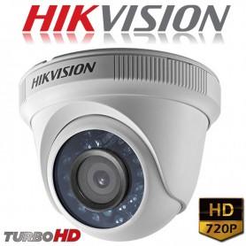CAMARA DOMO HIKVISION 720P DS-2CE56C2T-IRP TURBO LENTE 2,8MM PLASTICO