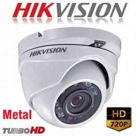 CAMARA DOMO HIKVISION 720P DS-2CE56COT-IRMF HIKVISION TURBO HD LENTE 2,8MM METAL
