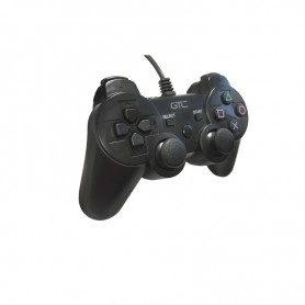 JOYSTICK GTC GAMEPAD DUALSHOCK CON CABLE PS3 PC PLAY TO WIN JPG-021