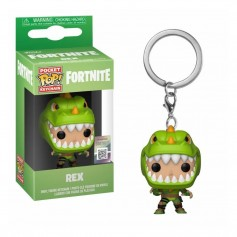 LLAVERO FUNKO POP REX FORTNITE ORIGINAL