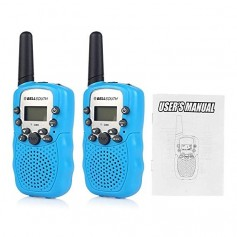 HANDY X2 BELL SOUTH T-388 RADIO WALKIE TALKIES UHF - 22 CANALES 2 UNIDADES COMBO 2KM