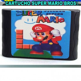 CARTUCHO SEGA SUPER MARIO CASETTE