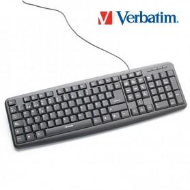 TECLADO VERBATIM USB 98121