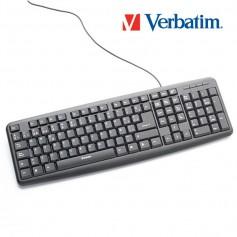Teclado Con Cable Verbatim Usb 98121