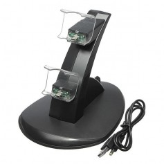 BASE DE CARGA PARA 2 JOYSTICKS PS4 STAND DE CARGA VIR-1114 PLAYSTATION 4