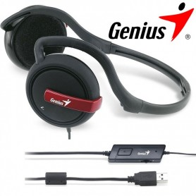 AURICULAR GENIUS HS-300C NUCA USB PC GAMING