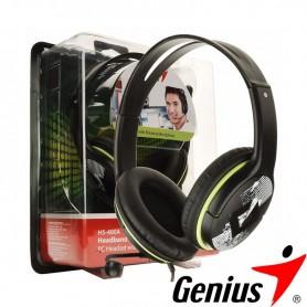 Auricular Con Microfono Genius Hs-400A Pc Verde