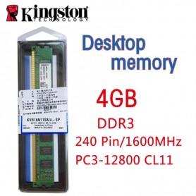 MEMORIA DDR3 4GB 1600 KINGSTON KVR16N11S8/4 PC