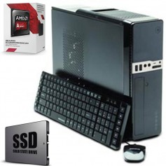 PC IDEAL OFICINA HOGAR SUPER RAPIDA SOLIDO 120GB AMD A4 4000 BANGHO 4GB DDR3 PC1