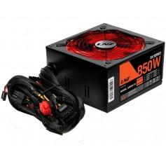 FUENTE PC GAMING 850W LNZ SX850W SEMIMODULAR MALLADO COOLER 120MM PROTECCION DE VOLTAJE