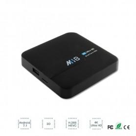 TV BOX MINI PC MI8 2GB RAM 16GB ROM QUAD CORE NETFLIX YOUTUBE PLAYSTORE 4K3840X2160 ANDROID TV