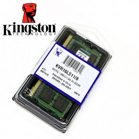 MEMORIA DDR3 8GB 1600 MHz SODIMM KINGSTON LOW VOLTAGE KVR16LS11/8 NOTEBOOK