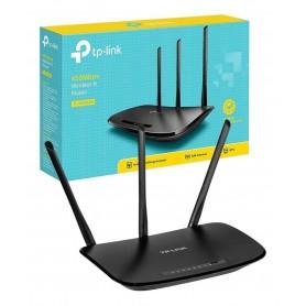 ROUTER WIFI TP-LINK 3 ANTENAS WR940N 940N 450MBPS 5DBI