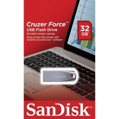 PENDRIVE 32GB SANDISK CRUZER FORCE USB FLASH DRIVE 2.0 3.0 METALICO