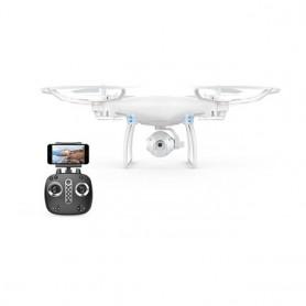 DRONE CUADRICOPTERO CONTROLREMOTO CAMARA 720 HD WIFI EXPLORERS DRONE SKY 360º AUTO RETORNO LH-X25