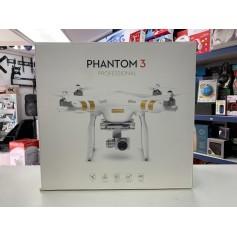 DRONE DJI PHANTOM 3 PROFESIONAL CASI NUEVO EXCELENTE ESTADO CAJA ACCESORIOS PROTECTOR GIMBALL