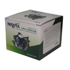 COOLER CON DISIPADOR NISUTA SOCKET 775 PENTIUM IV NUCLEO DE COBRE NSCO775E