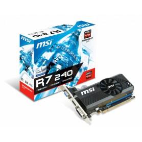 PLACA DE VIDEO MSI RADEON R7 240 2GB DDR3 64BITS VGA HDMI ACELERADORA DE VIDEO