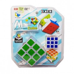 CUBO MAGICO TIPO RUBIK 3X3 + MINI CUBO MAGIC CUBE