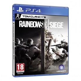 JUEGO PS4 TOM CLANCYS RAINDOW SIX SIEGE FISICO ORIGINAL