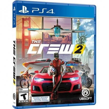 JUEGO PS4 THE CREW 2 FISICO ORIGINAL