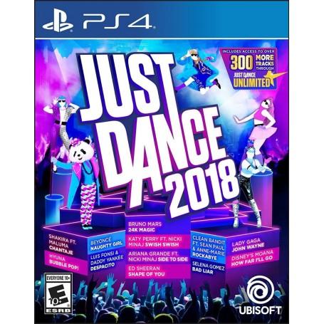 JUEGO PS4 JUST DANCE 2018 FISICO ORIGINAL