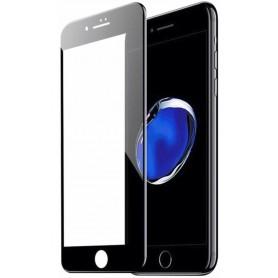 VIDRIO TEMPLADO GLASS 5D CON TAPA PARA IPHONE 7 PLUS Y 8 PLUS 5.5 2 EN 1 NEGRO