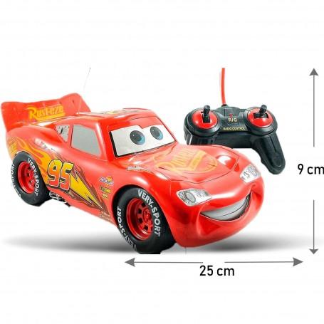 AUTO A CONTROL REMOTO CARS RAYO MQUEEN CHAMPIONS SERIE RADIO CONTROL DE FUNCION COMPLETA
