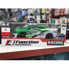 AUTO RC GIGANTE RADIO CONTROL HOT RACING DODGE A CONTROL 4 FUNCIONES