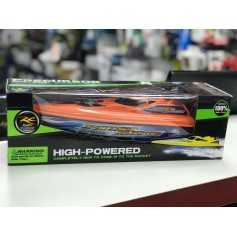 LANCHA RC PRECURSOR A RADIO CONTROL NARANJA HIGH POWERED SPEED BOAT