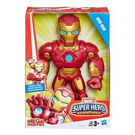 MU–ECO IRON MAN SUPER HERO MEGA MIGHTIES MARVEL HASBRO ORIGINAL