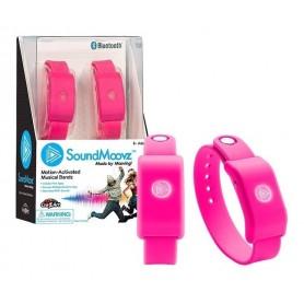 Pulsera Showmatch Musical Sound Moovz Soundmoovz Para Bailar Bluetooth Original Rosa