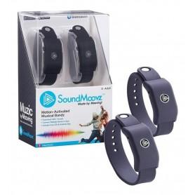 Pulsera Showmatch Musical Sound Moovz Soundmoovz Para Bailar Bluetooth Original Negro