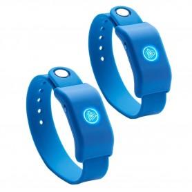 Pulsera Showmatch Musical Sound Moovz Soundmoovz Para Bailar Bluetooth Original Azul