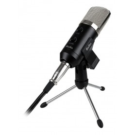 MICROFONO PROFESIONAL ESTUDIO KOLKE KPI-271 CONDENSER MULTIPATRON ESTUDIO YOUTUBE RADIO LOCUCION