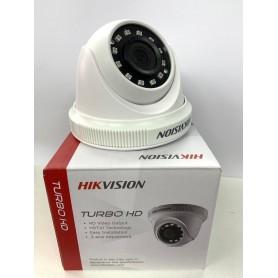 CAMARA HIKVISION DS-2CE56COT-IPF DOMO 720p TURBO HD 1280X720p. PLASTICO 2.8mm