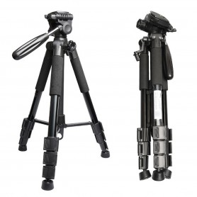 TRIPODE FOTOGRAFIA VIDEO PLEGABLE ET-668 CAMARAS TELESCOPICO 1.40CM