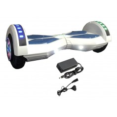 PATINETA ELECTRICA SKATE SMART HOVERBOARD SMARTECH 8.5 12KM/H BLUETOOTH PARLANTES Y LUCES