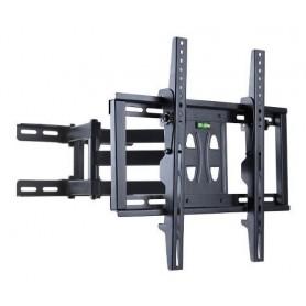 SOPORTE LED TV LCD SMART ARTICULADO 75 EXTENSIBLE TV MF550DL HASTA 75 PULGADAS DOBLE BRAZO REFORZADO