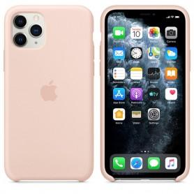 FUNDA IPHONE 11 PRO PLUS PINK 6.5'' ORIGINAL SILICONA SILICONE COVER NEW IPHONE 2019