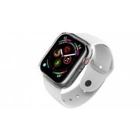 PROTECTOR SILICONA BUMPER 360 APPLE WATCH 40MM GRIS