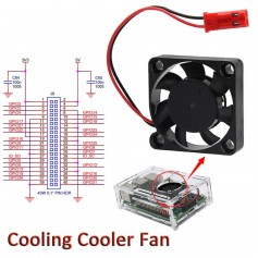 COOLER RASPBERRY PI 3 ARDUINO PI FAN 30MM 5V