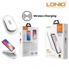 COMBO 2EN1 CARGADOR INALAMBRICO LDNIO POWER BANK + CARGADOR IQ IPHONE SAMSUNG XIAOMI CALIDAD 5A PW501